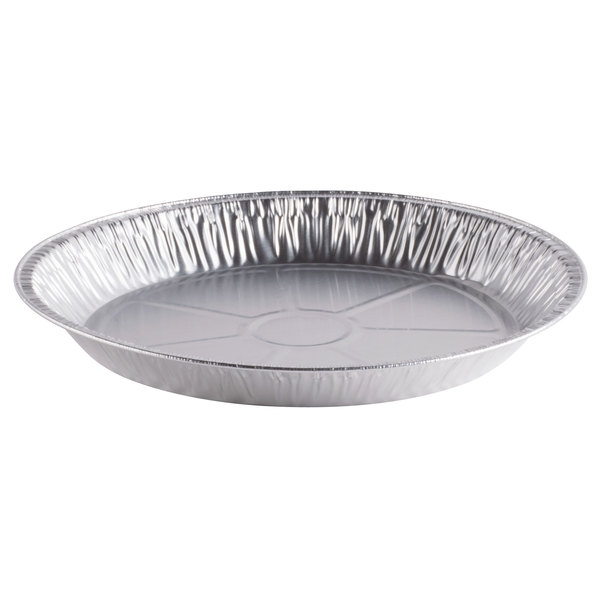 D&W Fine Pack G78 11 11/16 inch Extra-Deep Foil Pie Pan - 125/Pack