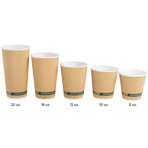 Coffee Cup 8 Oz 240 Ml 16 Size