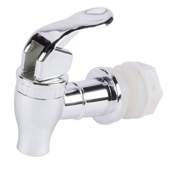 Replacement Silver Spigot for Beverage Dispensers Main Image 1