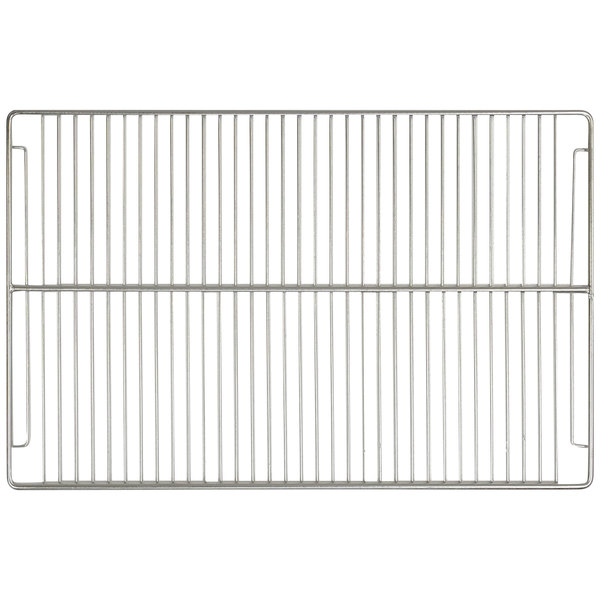 "Turbo Air CZ42600101 Stainless Steel Wire Bottom Shelf - 25 1/2"" x 25"" Main Image 1"