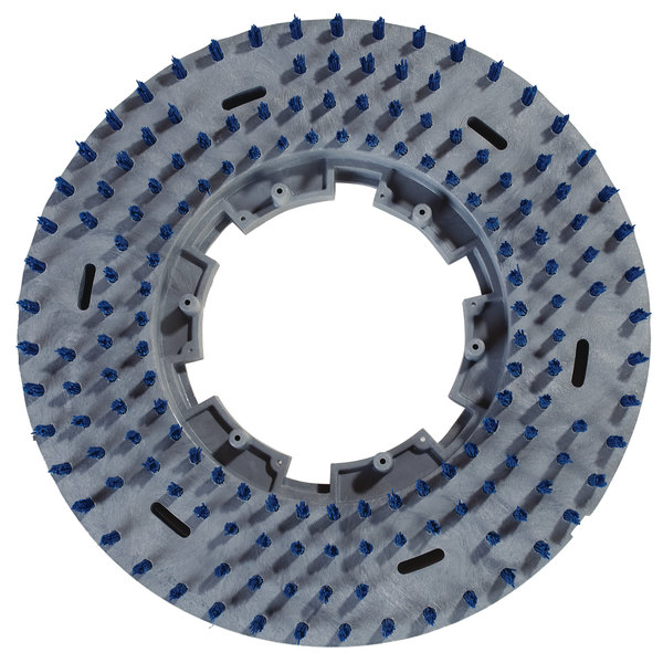 "Carlisle 3619PD EZSnap 19"" Blue Value Rotary Short Trim Pad Driver"