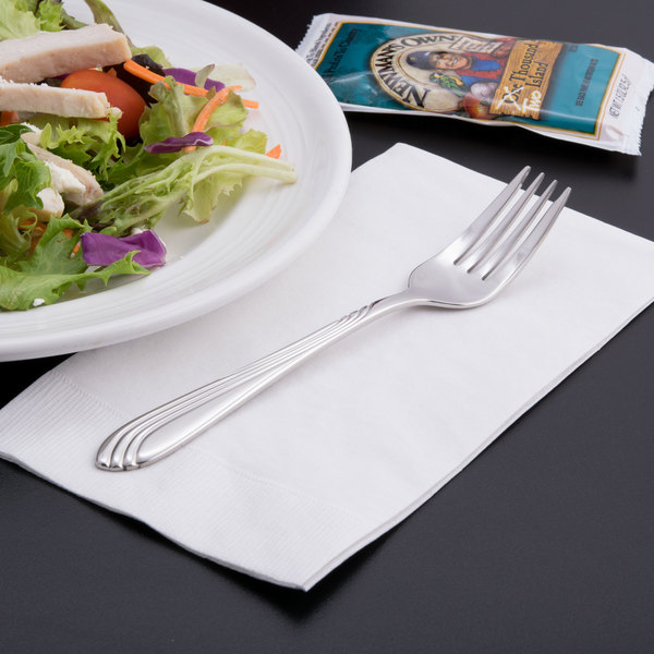 World Tableware 980 038 Neptune 6 7/8  18/8 Stainless Steel Extra Heavy Weight Salad ... : stainless tableware - pezcame.com
