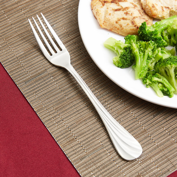 World Tableware 491 039 Serenade 8 1/8\  18/8 Stainless Steel Extra Heavy Weight European ... & World Tableware 491 039 Serenade 8 1/8\