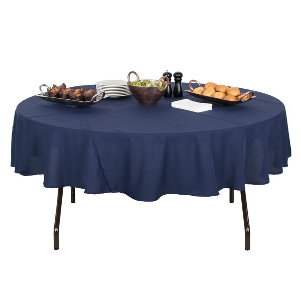 "Correll Round Folding Table, 60"" Tamper-Resistant Plastic, Mocha Granite - RX60R Main Image 5"