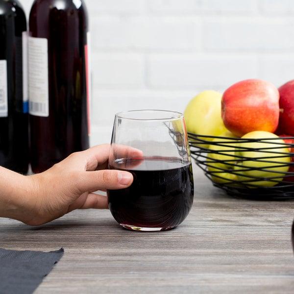 Acopa 17 oz. Stemless Wine Glass - 12/Case Main Image 2