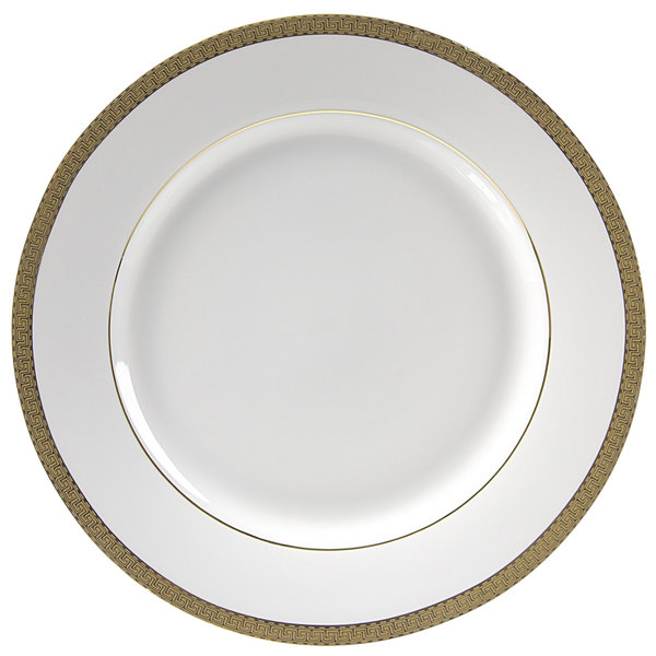 10 Strawberry Street LUX-1G Luxor 10 3/4  Gold Porcelain Dinner Plate - 24/Case  sc 1 st  WebstaurantStore & 10 Strawberry Street LUX-1G Luxor 10 3/4