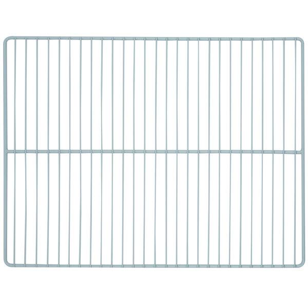 """True 983534 Gray Coated Wire Shelf - 23 1/4"""" x 16"""""""