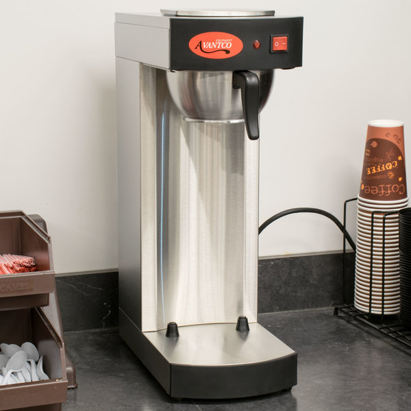 Avantco C15 Pourover Airpot Coffee Brewer - 120V Main Image 3