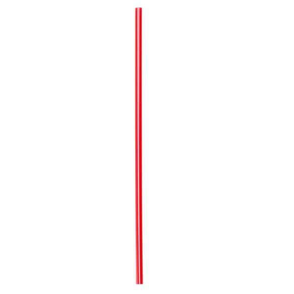 """Choice 5"""" Red and White Unwrapped Coffee Stirrer - 10000/Case"""