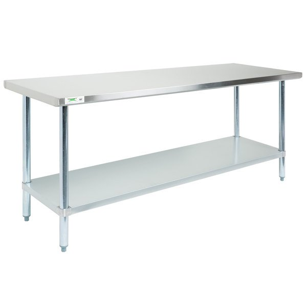 Great For Chopping, Sorting, And Assembling, This Work Table Provides A  Sturdy, Spacious Surface For Food Prep And Storage. With Its High Weight  Capacity, ...