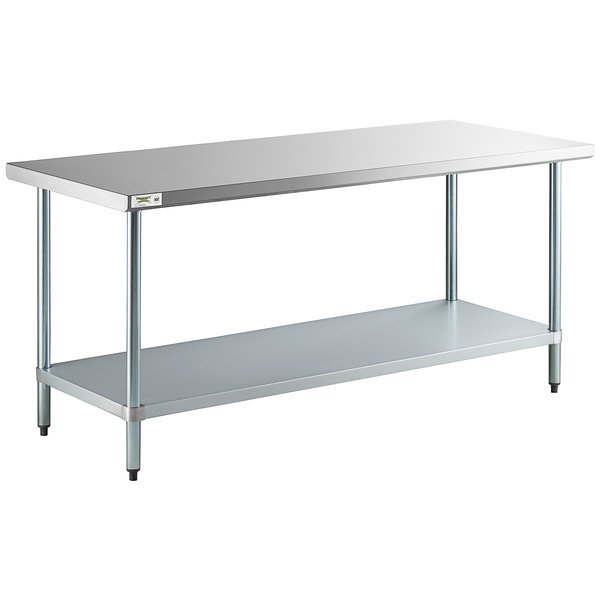 30 X 72 Stainless Steel Commercial Work Table