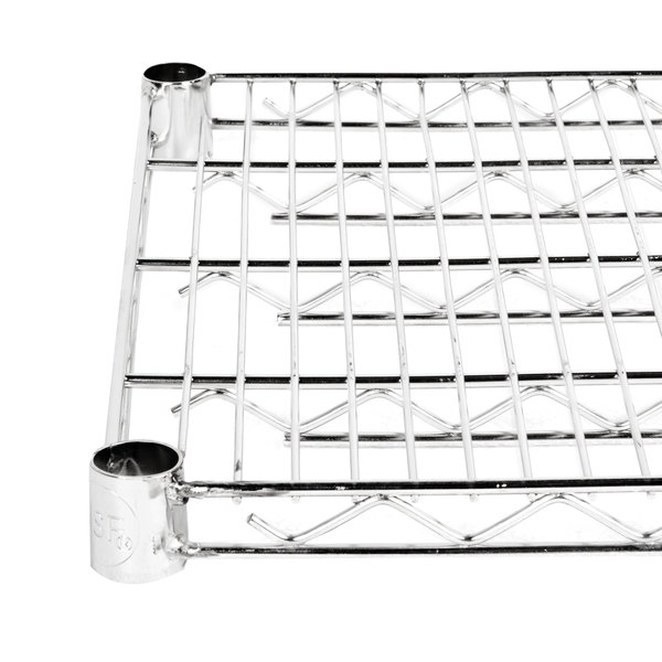 "Regency 18"" x 48"" NSF Stainless Steel Wire Shelf"