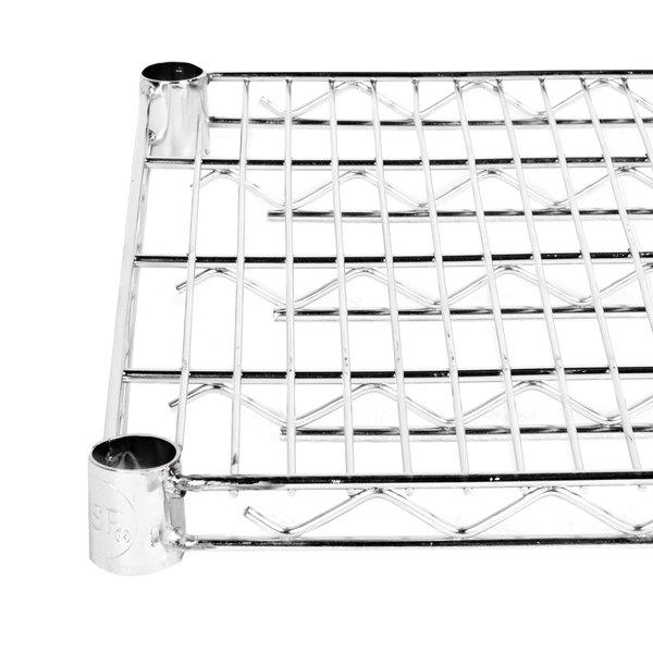 "Regency 18"" x 60"" NSF Stainless Steel Wire Shelf"