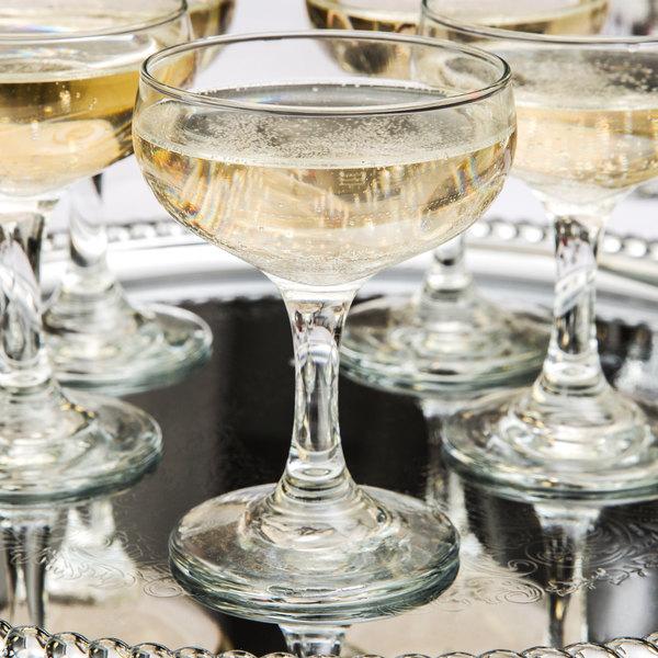 Brand-new Libbey 3773 Embassy 5.5 oz. Champagne Glass - 36/Case IL47