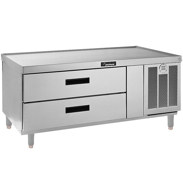 """Delfield F2952P 52"""" 2 Drawer Refrigerated Chef Base Main Image 1"""