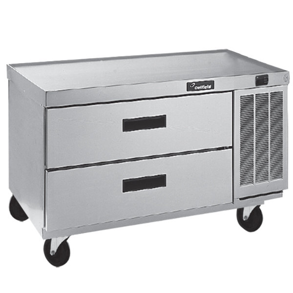"Delfield F2936CP 36"" Two Drawer Refrigerated Chef Base"