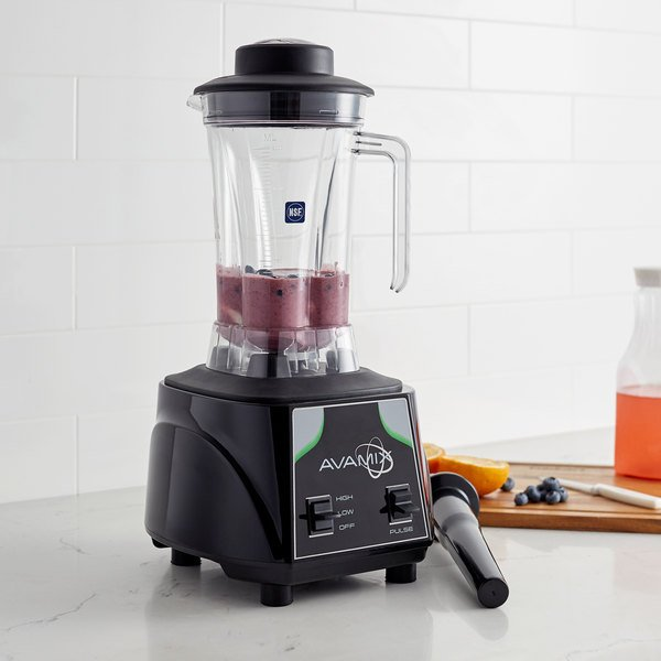 Avamix BX2000T 3 1/2 hp Commercial Blender with Toggle Control and Two 64 oz. Polycarbonate Containers