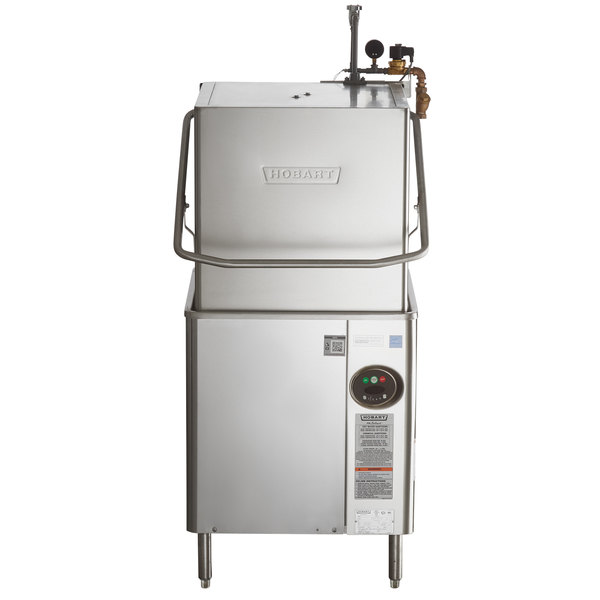 Hobart AM15 1 Select Single Rack High Low Temperature Straight Corner Dishwasher 208 240V 3 Phase
