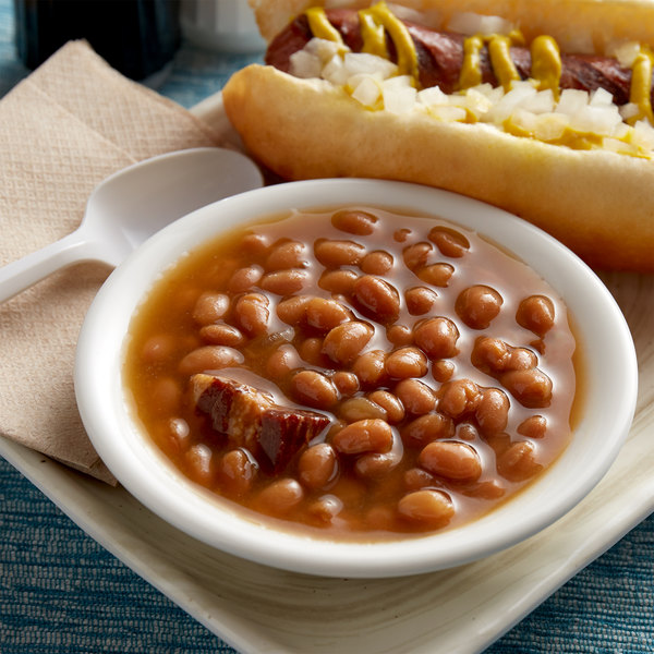 Furmano's #10 Can Baked Beans - 6/Case Main Image 2