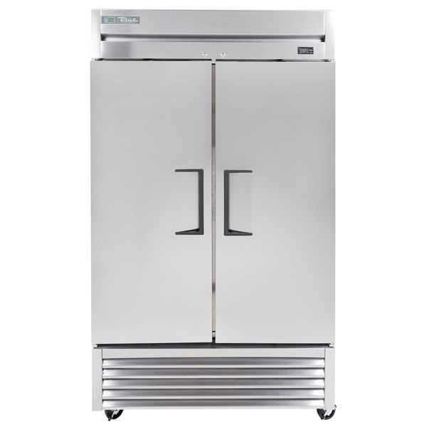 True T-43-HC 47 inch Solid Door Reach in Refrigerator