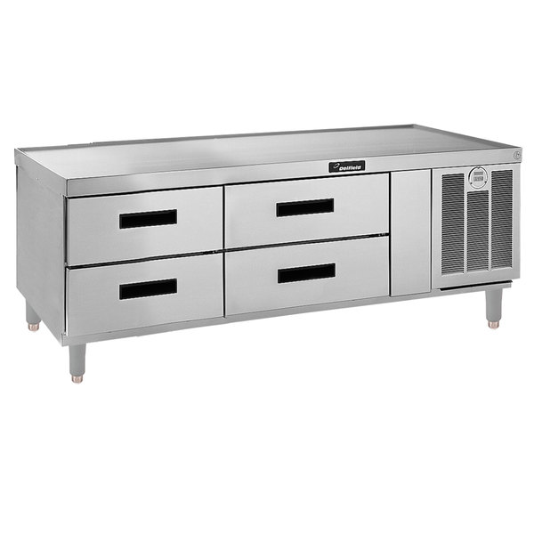 """Delfield F2962P 62"""" 4 Drawer Refrigerated Chef Base Main Image 1"""
