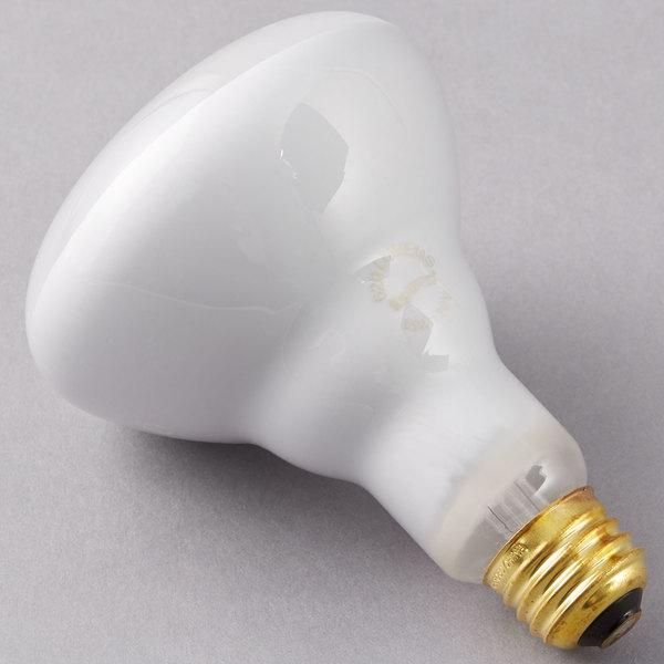 Satco S3408 65 Watt Frosted Incandescent Flood Lamp