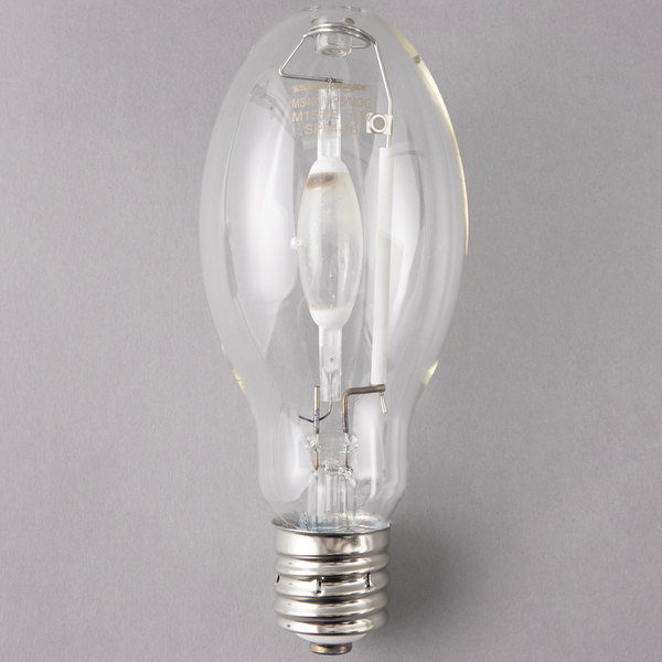 Satco S5878 400 Watt Cool White Clear Finish Metal Halide Hid Light Bulb Ed28