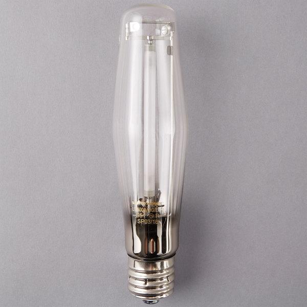 Satco S1941 400 Watt Warm Yellow Clear Finish High Pressure Sodium Hid Light Bulb Et18