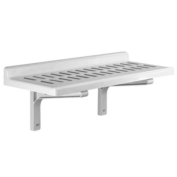"Cambro CSWS1436V Camshelving® 36"" x 14"" Vented Wall Shelf"