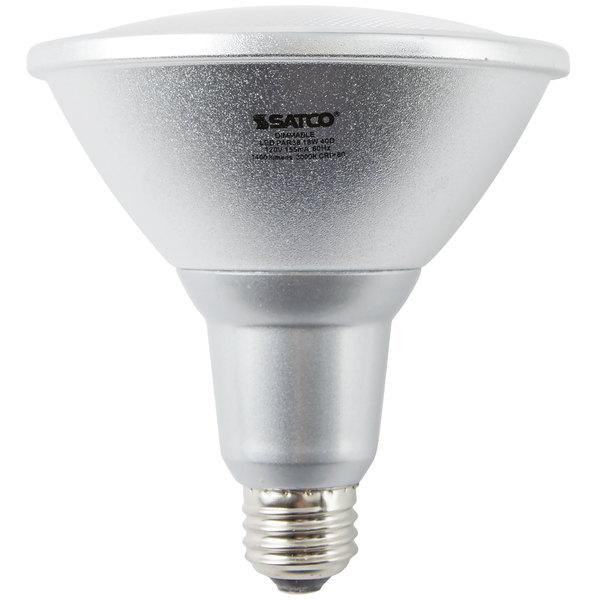 Satco s9455 18 watt 100 watt equivalent warm white indooroutdoor satco s9455 18 watt 100 watt equivalent warm white indooroutdoor led reflector light bulb 120v aloadofball Gallery