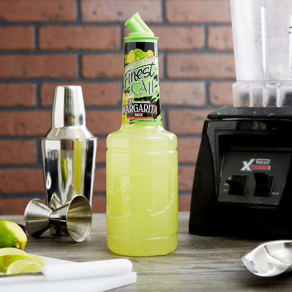 Finest Call 1 Liter Premium Margarita Mix Main Image 2