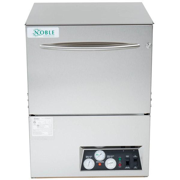 Noble Warewashing UH30-FND High Temperature Undercounter Dishwasher - 208/230V