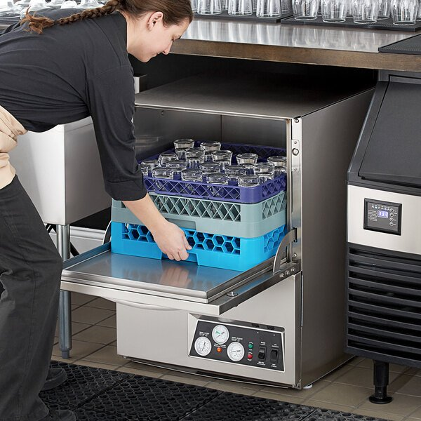 Noble Warewashing UH30-FND High Temperature Undercounter Dishwasher - 208/230V Main Image 5