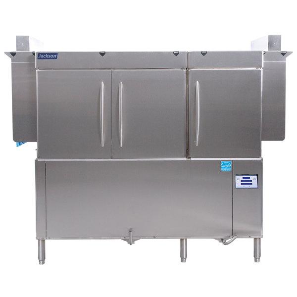 Jackson RackStar 66 Single Tank High Temperature Conveyor Dish Machine - Left to Right - 208V, 3 Phase Main Image 1