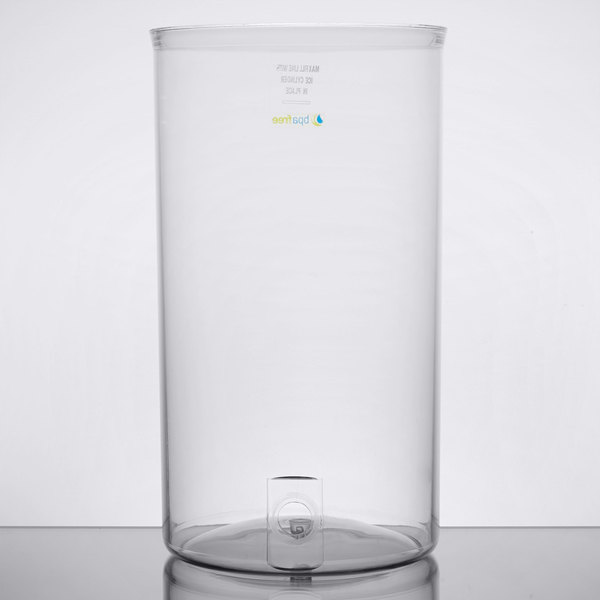 Vollrath 46830 Replacement Polycarbonate Beverage Container for New York, New York 2 Gallon Cold Beverage Dispensers