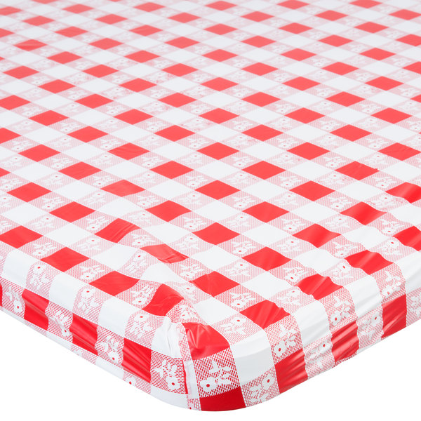 Gingham Plastic Table Cover Image Preview Main Picture