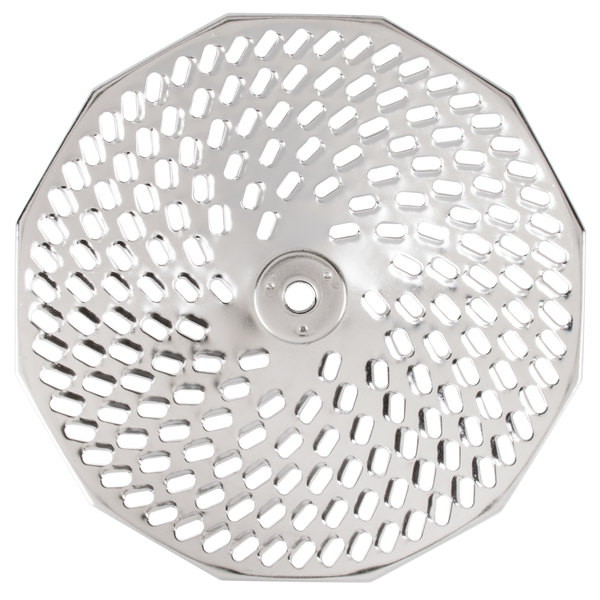 """Tellier X3040 5/32"""" Perforated Replacement Sieve for Food Mill #3 - Stainless Steel"""