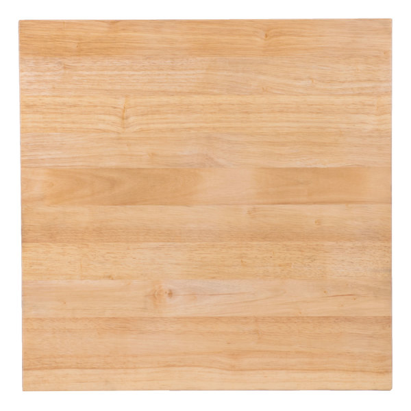 This Choice 24 X 1 3 4 Wood Cutting Board Is Perfect For Commercial Kitchens And Caterers Alike It Features A Reversible Design An Even Longer