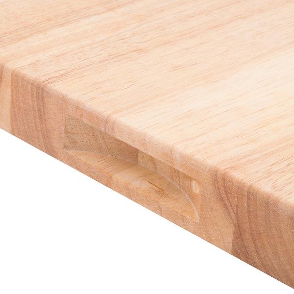 Choice 30 X 18 X 1 34 Wood Cutting Board