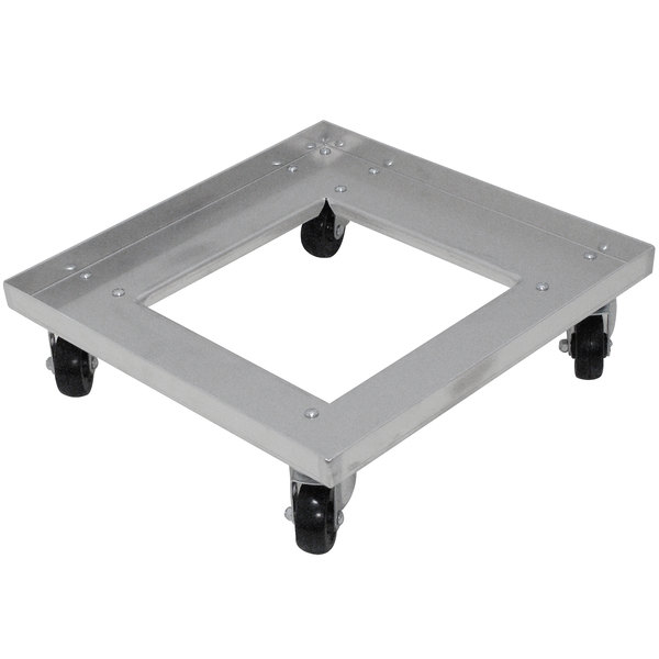 Advance Tabco GRD-1 Aluminum Glass Rack Dolly