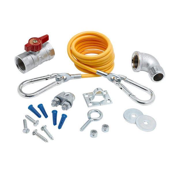 "T&S AG-KE 1"" Gas Appliance Installation Kit Main Image 1"
