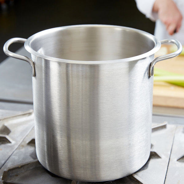 Vollrath 78560 Classic 7 1/2 Qt. Stainless Steel Stock Pot / Double Boiler Pot