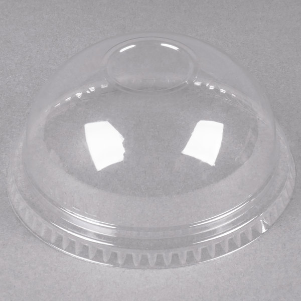 Dart Solo Conex DNR662 Dome Lid (No Hole) - 100/Pack