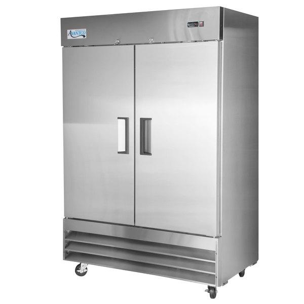 Two Door Commercial Refrigerator 54 Webstaurantstore