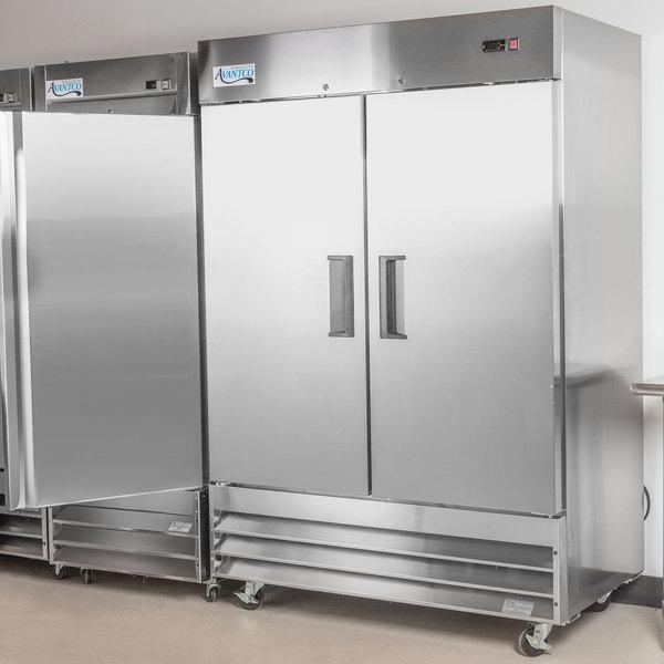 """Avantco A-49R-HC 54"""" Solid Door Reach-In Refrigerator"""