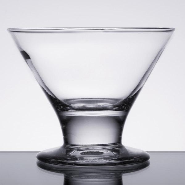 Libbey 3803 8 oz. Mini Martini / Dessert Glass - 12/Case