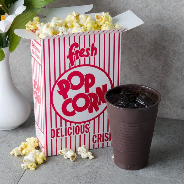 Great Western 11049 .74 oz. Popcorn Box - 500/Case