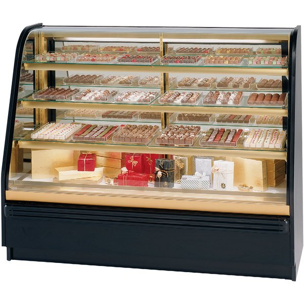 """Federal Industries FCC-6 72"""" Dry Confectionary Display Case"""