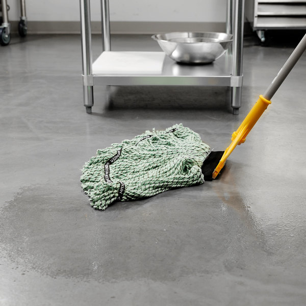 Rubbermaid 1924784 Green Large Maximizer Blend Mop Head