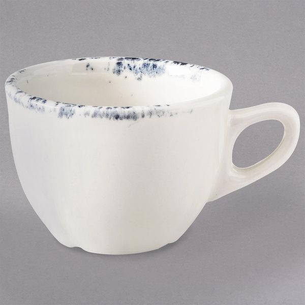 Homer Laughlin 50741300 Cottage Bleu 4 oz. A.D. Demitasse Cup - 36/Case